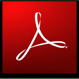 Adobe Reader логотип