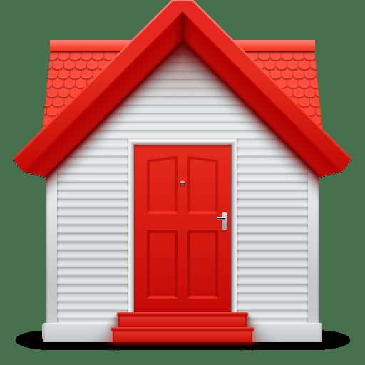 Дом 3д лого