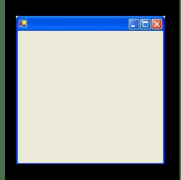 Внешний вид графического приложения на языке C#