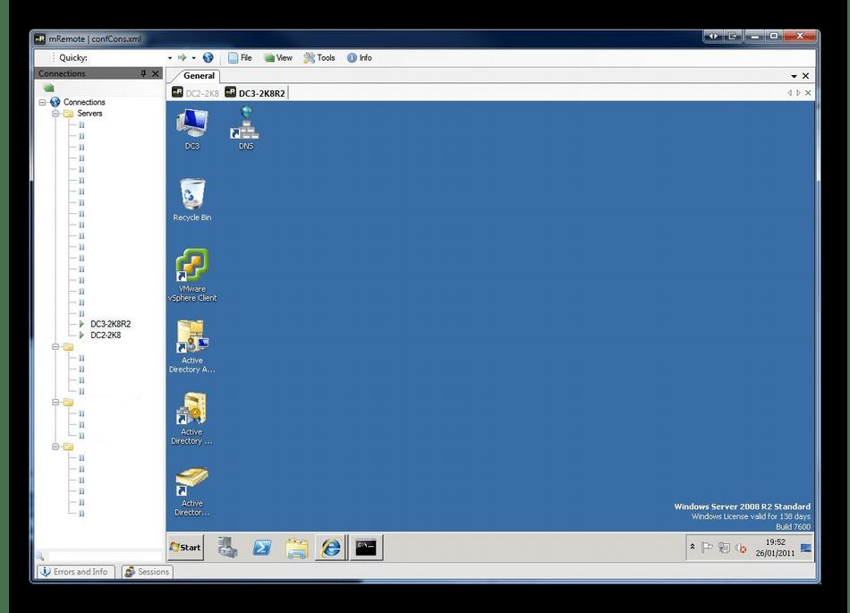 Организация удаленного соединения через программу mRemoteNG