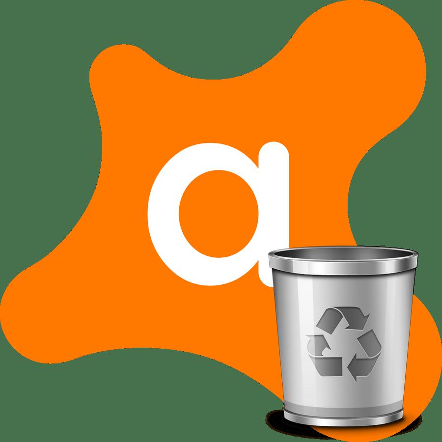 Принудительное удаление Avast