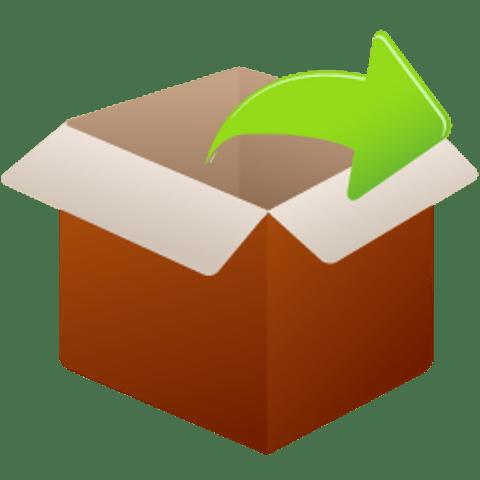 Распаковка архива в программе WinRAR