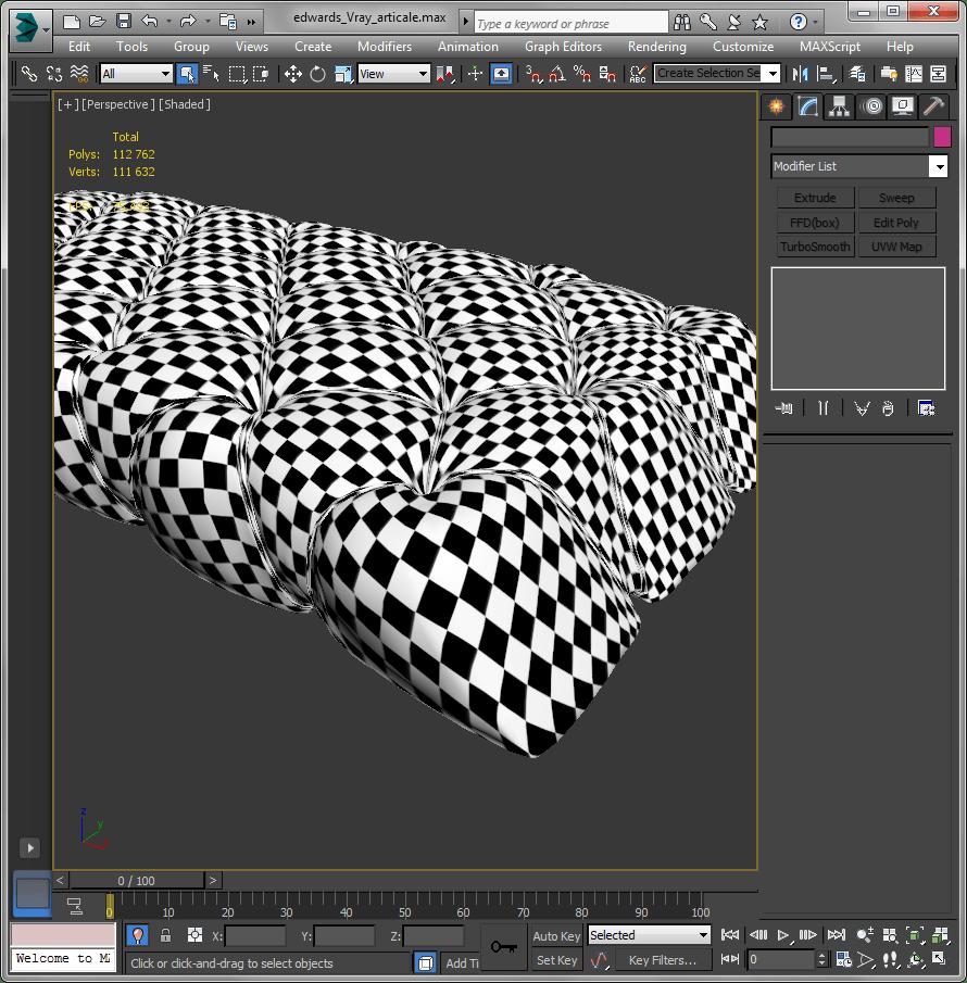 Сложное текстурирование в 3ds Max 7