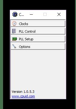 Использование программы ClockGen для разгона процессора