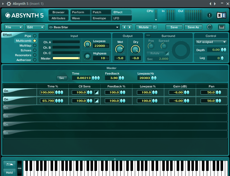 Absynth 5 VST плагин в FL Studio