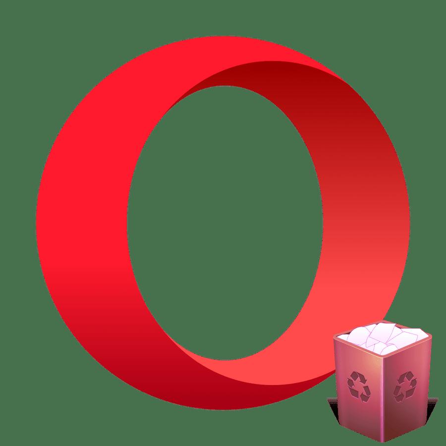 Чистка кэша в браузере Opera