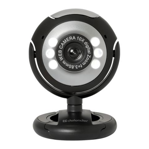 Как сделать из веб-камеры камеру видеонаблюдения