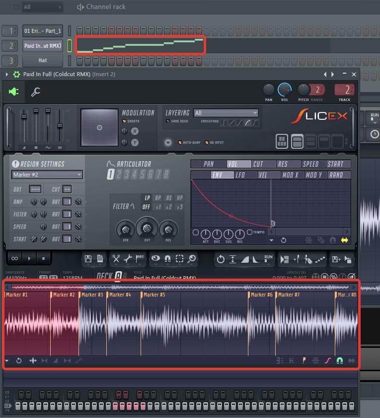 Slicex в FL Studio