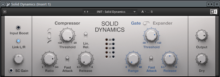 Solid Dynamics VST плагин для FL Studio