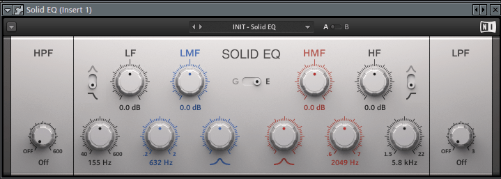 Solid EQ VST плагин для FL Studio