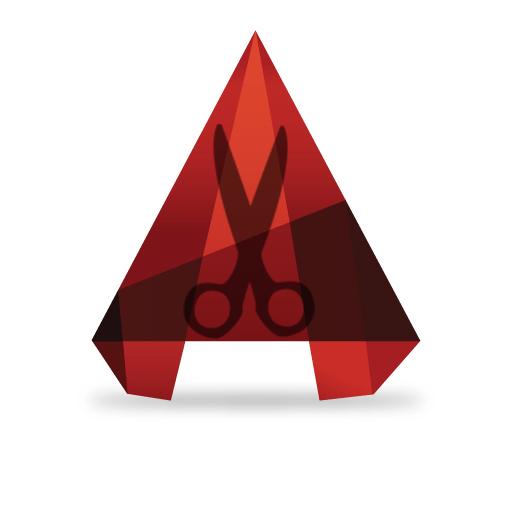 autocad-logo trim line