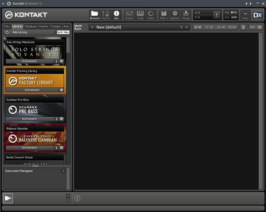 сэмплы для виртуальных инструментов в FL Studio
