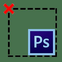 Как снять выделение в Фотошопе логотип