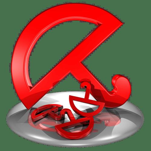 Логотип исключения в программе Авира