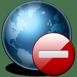 Логотип нет подключения к интернету в программе BlueStacks