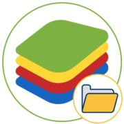 Как установить кеш в BlueStacks