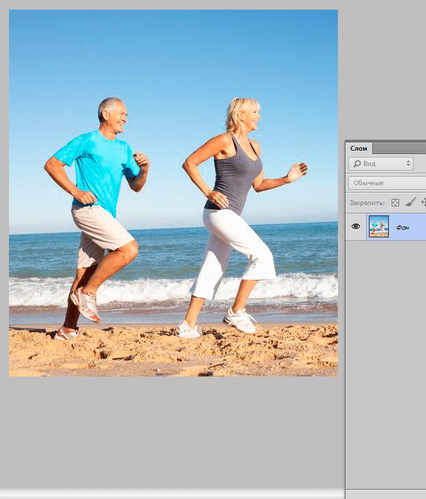 Как выровнять фото не искажая фон