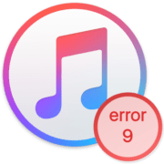 iTunes ошибка 9