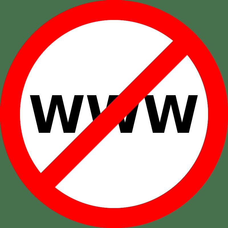 Блокировка сайта Opera