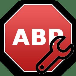 Иконка для настроек AdBlock Plus