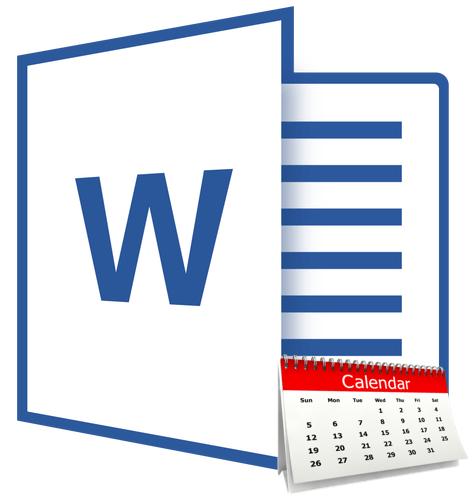 Kak-v-Vorde-sdelat-kalendar Календарь своими руками - 80 фото, шаблоны и идеи оформления как сделать красивый календарь