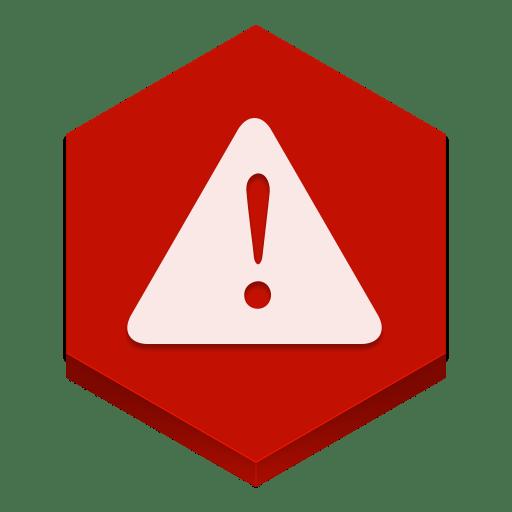 Логотип ошибки программы BlueStacks