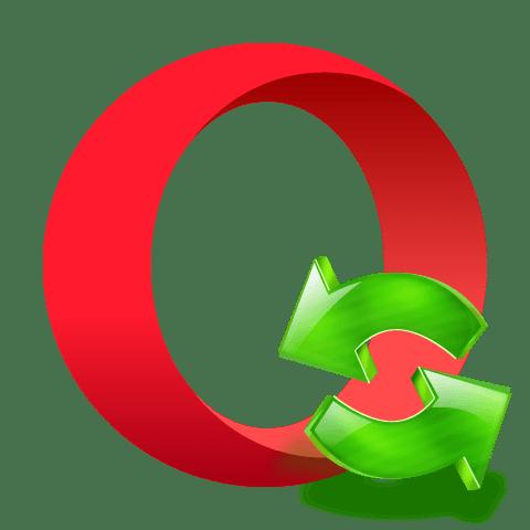 Обновление браузера Опера