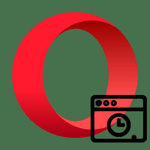 Просмотр истории браузера Opera