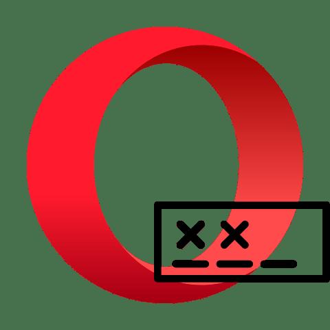 Просмотр места хранения пароля в браузере Opera