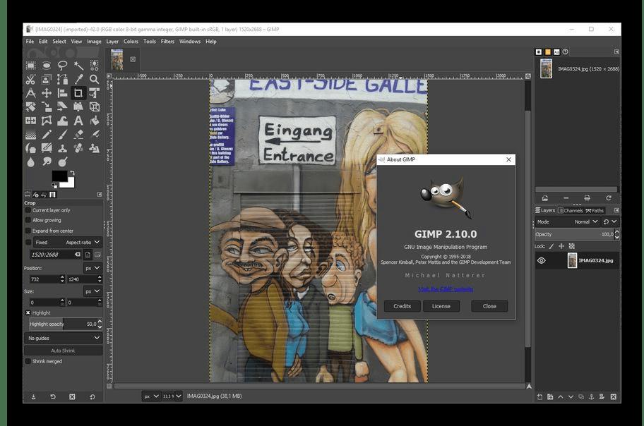 Рисование в программе GIMP