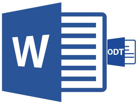 Как перевести ODT в Word
