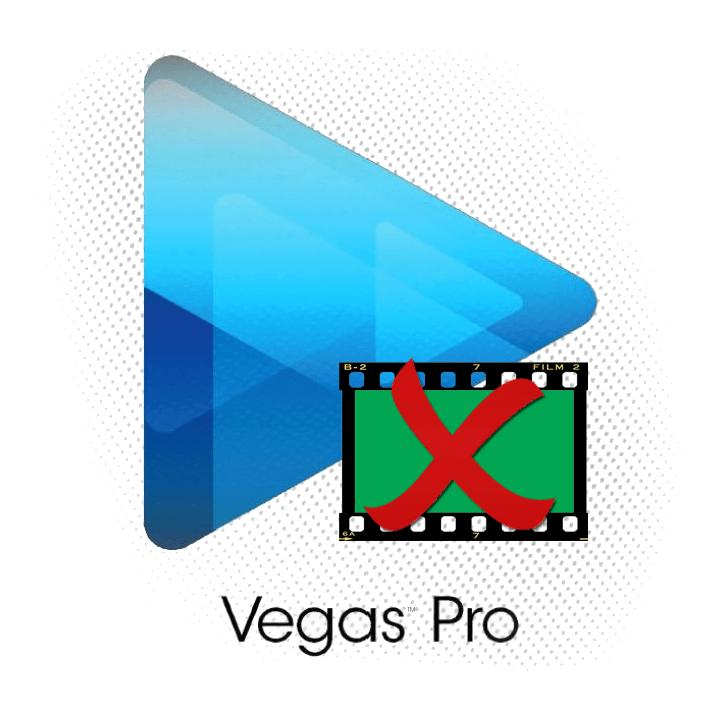 Как убрать зеленый фон в Sony Vegas