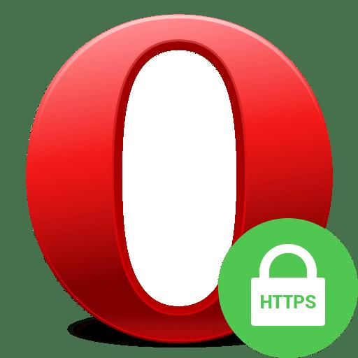 Отключение безопасного соединения в браузере Opera