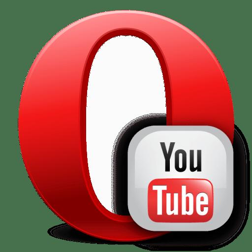 YouTube в браузере Opera