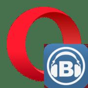 Загрузка музыки из ВКонтакте в браузере Opera