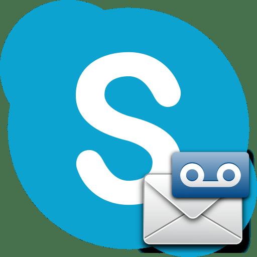 Голосовая почта в Skype