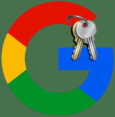Как поменять пароль в аккаунте Google лого