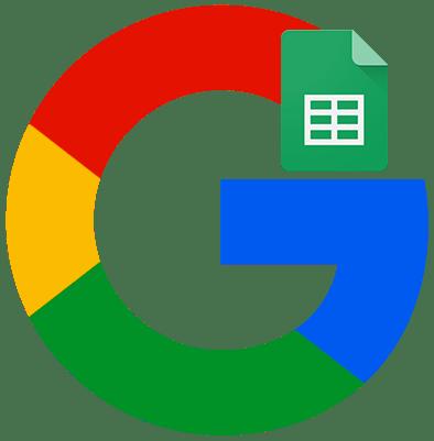 Как создать Google таблицу лого
