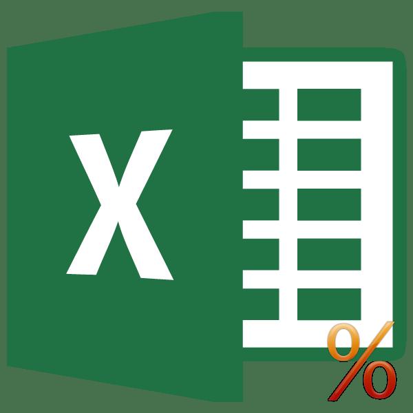 Вычисление процентов в программе Microsoft Excel