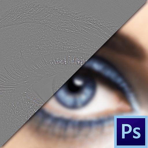 Частотное разложение в Фотошоп