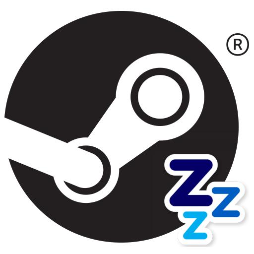 Как сделать статус спит в Steam