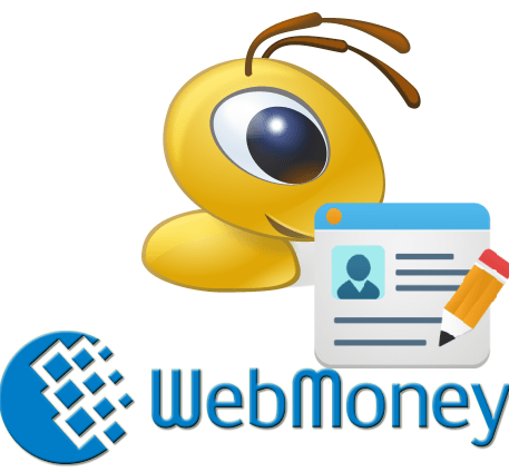 Как зарегистрироваться в WebMoney logo