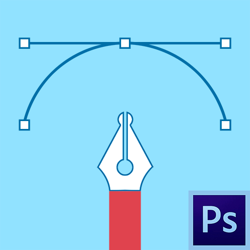 Как пользоваться инструментом перо в фотошопе