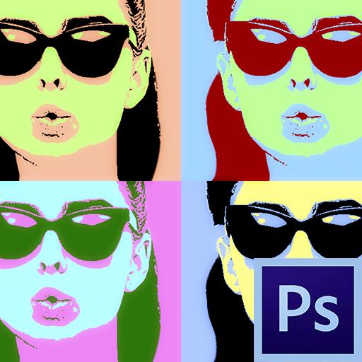 Как сделать поп-арт портрет в Фотошопе