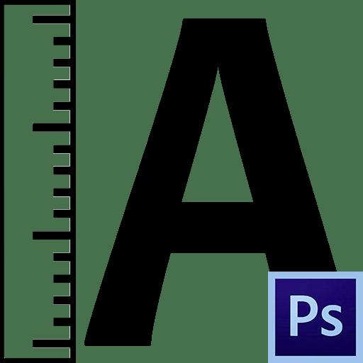 Как увеличить текст в Фотошопе