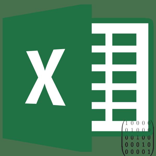 Обратная матрица в Microsoft Excel
