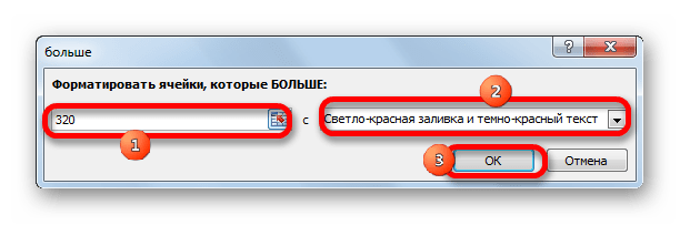 Форматирование в Microsoft Excel