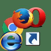 Как создать ярлык браузера на рабочем столе