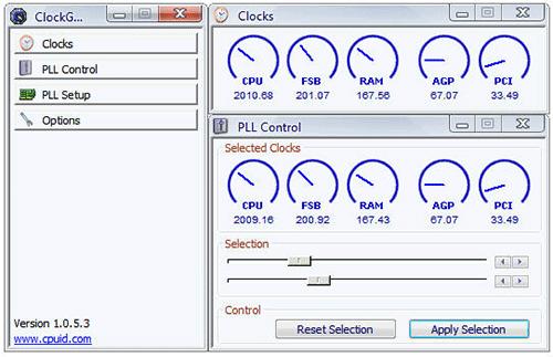 ClockGen интерфейс