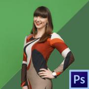 Как убрать зеленый фон в фотошопе